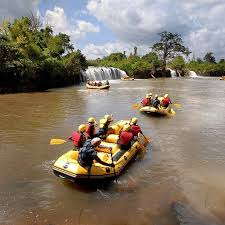 Sagana White Water Rafting